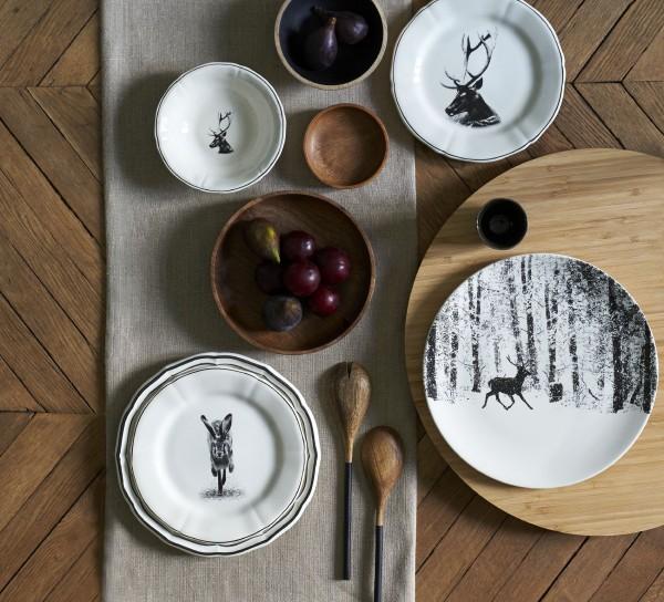 GIEN CHAMBORD, Kuchen / Dessertteller - Set
