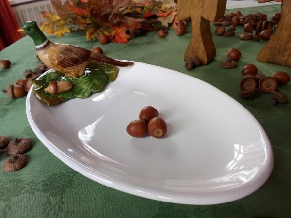 Platte, Keramik, FASAN