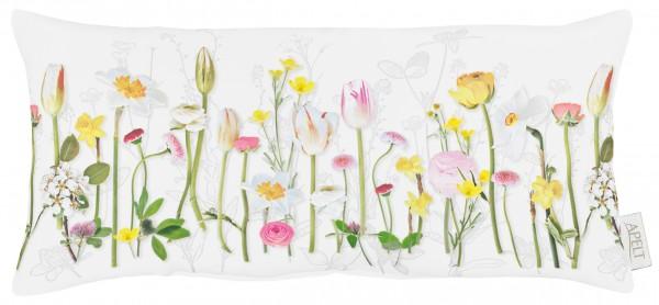Apelt Blütenreihe Kissen Gefüllt
