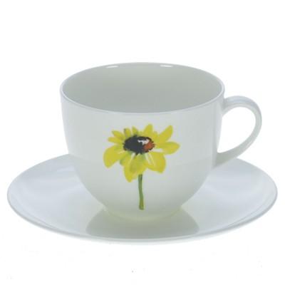 CLOU & CLASSIC YELLOW FLOWERS KAFFEETASSEN - SET